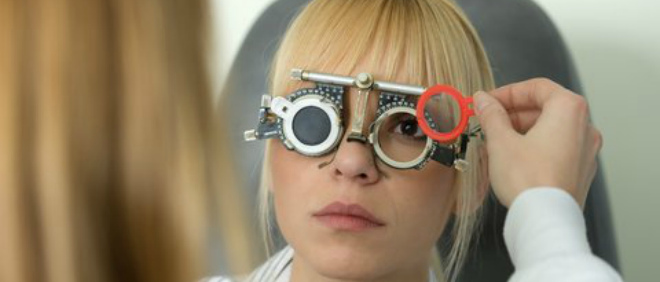 нарушение зрения при инсульте