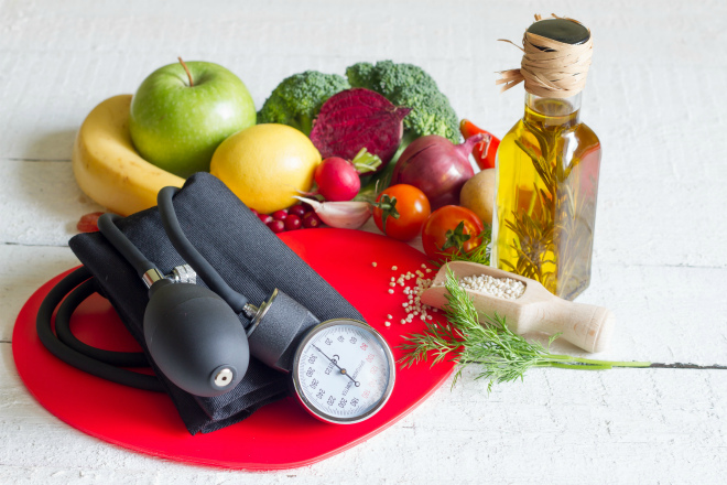 Питание при высоком давлении и диабете